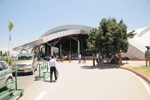 Srinagar Airport: Kashmir