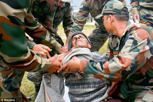 Army Person Dead in Kashmir