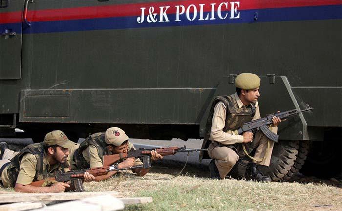 Attack on Police Station Kashmir